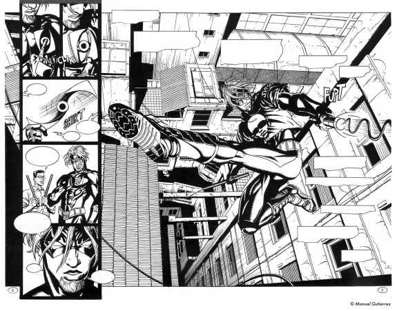 El Ojo Blindado N° 3, pages 2&3, double spread