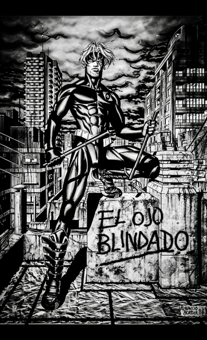 El Ojo Blindado N° 4, interior poster, unpublished