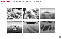 Ford Mustang, Match, BW shooting boards 07/12 - Stardust Productions