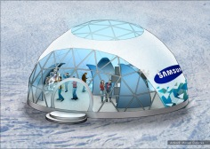 Samsung, Olympics stands concept 2 - Ignition Inc