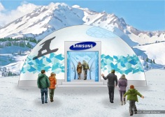 Samsung, Olympics stands concept 4 - Ignition Inc