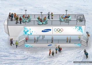 Samsung, Olympics stands concept 7 - Ignition Inc