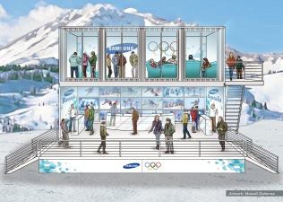 Samsung, Olympics stands concept 9 - Ignition Inc