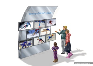 Samsung Olympics Dome 1