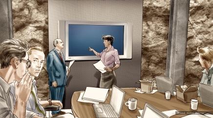 At&t, color storyboard frame 2 - Sanders/Wingo