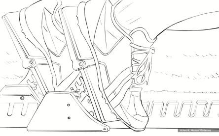 Highmark BCBS: average american, BW storyboard frame 2 - Mullen