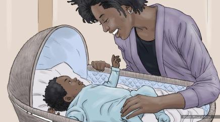 At&t, Baby Talk, color storyboard frame 3 - Sanders/Wingo
