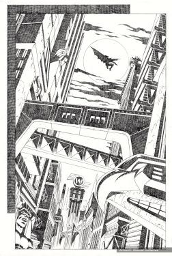 Batman Serie 3 Pencils pag 2