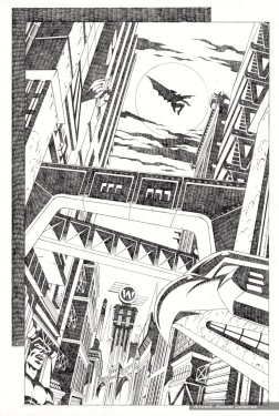 Batman, sample series 3, page 2 (pencils)
