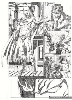 Batman Serie 3 Pencils pag 4