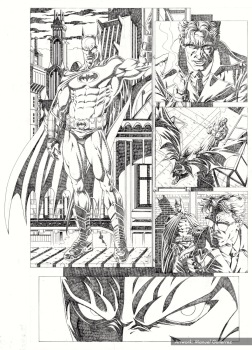 Batman, sample series 3, page 4 (pencils)