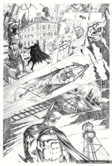 Batman Serie 4 Pencils pag 1