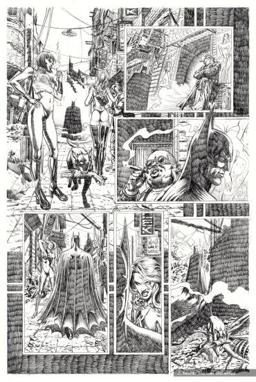 Batman Serie 4 Pencils pag 2