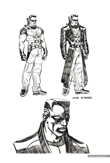 Blade: character studies, costume 6