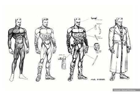 Blade Costume Concept