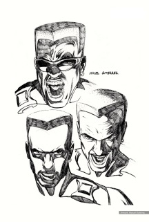 Blade: character studies, heads 2
