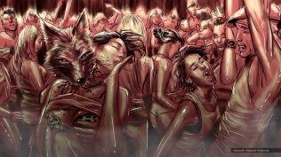 Coyote Requiem, concept storyboard, frame 3