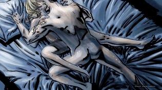 Coyote Requiem, concept storyboard, frame 7