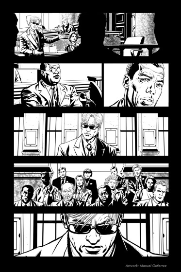 "Daredevil #40, ""The Trial Of The Century"", page 5"