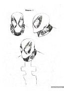 Deadpool, character studies, heads