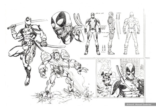 Deadpool, character studies