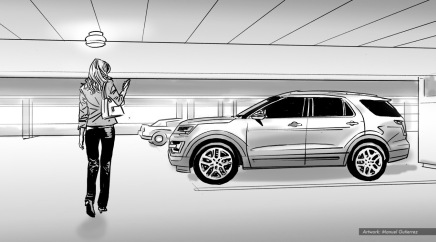 Ford: Core, BW storyboard frame 5 - VML