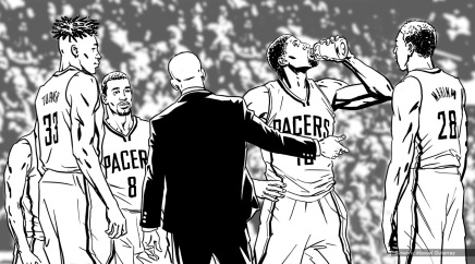 Gatorade: Flow, Paul George. BW storyboard frame 11 - VML