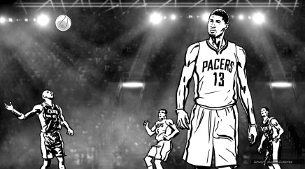 Gatorade: Flow, Paul George. BW storyboard frame 8 - VML