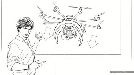 Humming Drone 8