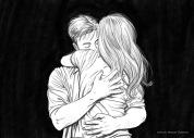 In love's embrace.3