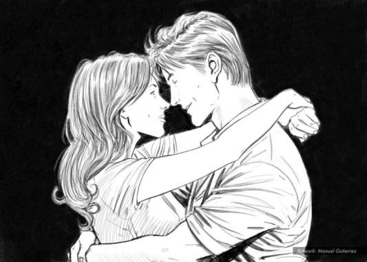 In love's embrace.4