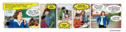Learning Hero, Jack Young Middle School comic strip