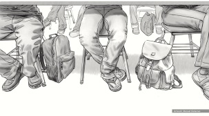 Keiser, BW storyboard frame 5 - Keypath Education