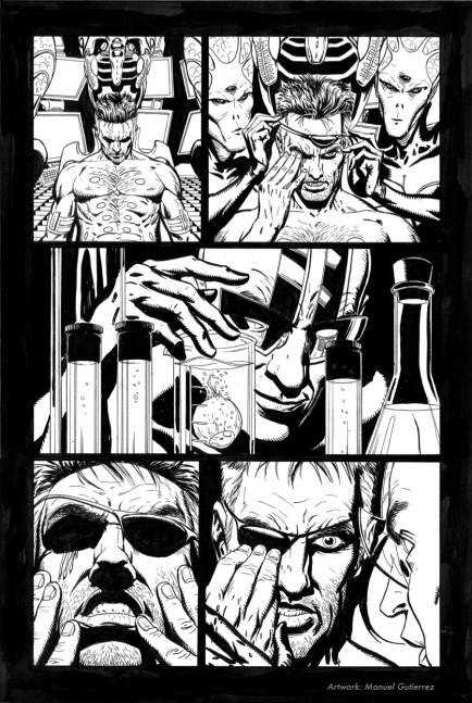 "Nick Fury, Agent of S.H.I.E.L.D. ""Nick´s World"", page 4"