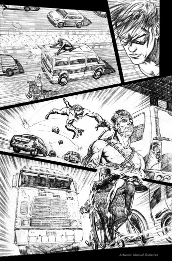 Nightwing: Hella, page 4 (pencils)