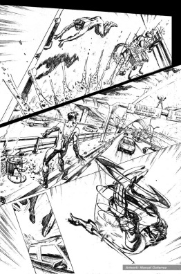 Nightwing: Hella, page 6 (pencils)