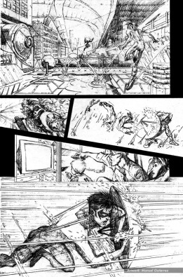 Nightwing: Hella, page 8 (pencils)