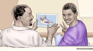 At&t, Royalty, color storyboard frame 8 - Sanders/Wingo