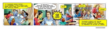 Learning Hero, Talawanda School comic strip