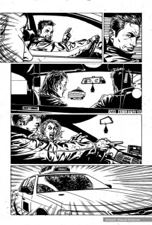 "The Punisher #11, ""Taxi Wars"", page 10"