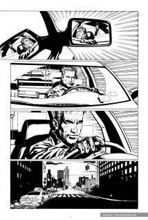 "The Punisher #11, ""Taxi Wars"", page 11"