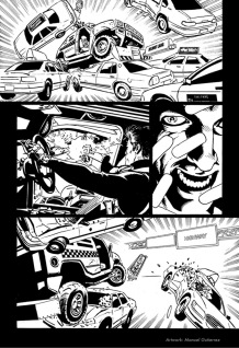 "The Punisher #12, ""Taxi Wars"", page 20"