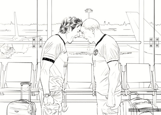 WHHSH, Bros/UK, BW storyboard frame 2 - RR Partners