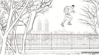 Verizon, Moments, BW storyboard frame 1 - Discover CG
