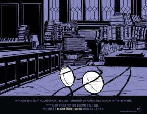Winston Salem Simphony, John Williams: The Sequel, Harry Potter poster