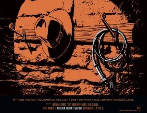 Winston Salem Simphony, John Williams: The Sequel, Indiana Jones poster